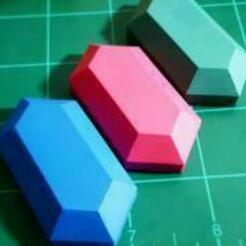 legend of zelda rupe.jpg Download STL file The Legend Of Zelda: Rupee • 3D printer object, PalmaEli