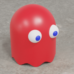 fantasma de pacman.png Télécharger fichier STL Pac-man fantôme • Objet à imprimer en 3D, PalmaEli