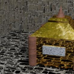 cofre sagrado.png Download STL file Sacred Chest • Design to 3D print, PalmaEli
