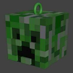 creeperscrens.JPG Télécharger fichier STL Porte-clés Minecraft - Creeper • Modèle pour imprimante 3D, enzoxcrows