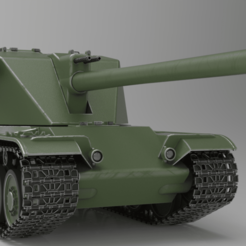 untitled.112.png Download free STL file Swedish Heavy Tank • 3D printable object, MarichaCaceresHuertas