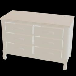 view.png Télécharger fichier STL gratuit Meubles de chambre à coucher • Design pour impression 3D, 3dmonios