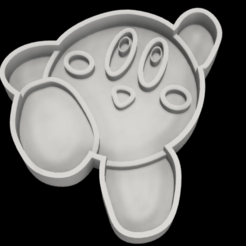 KirbyCortaGalleta v4.png Download STL file Kirby Cookie Cutter • 3D print template, solgnt