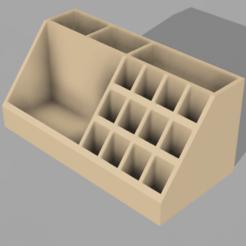 PortaMaquillaje v5.png Download STL file Makeup Organizer • 3D printable design, solgnt