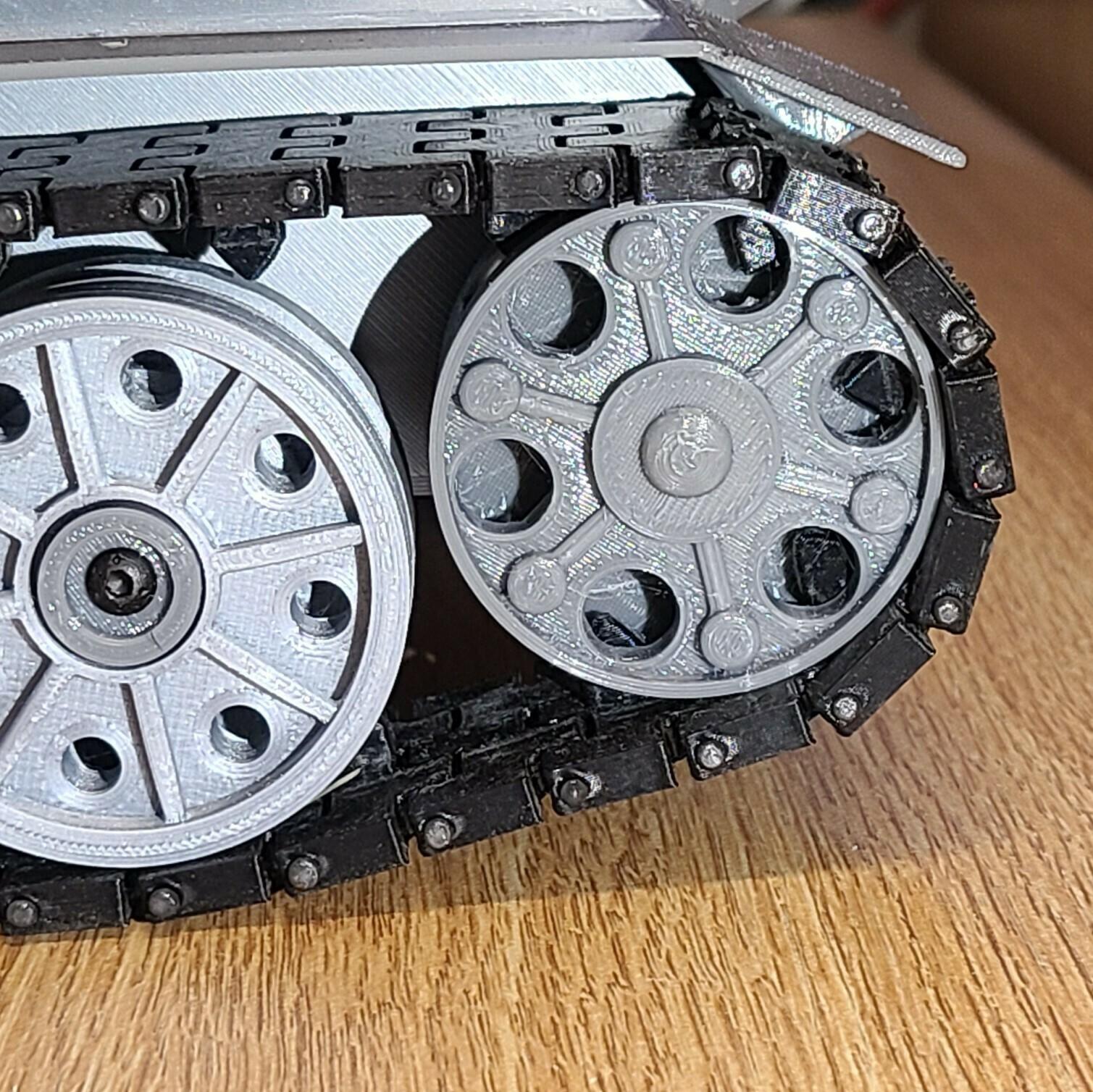 drive gear.jpg Download STL file T-34/85 RC Model 1:16 scale • 3D printing template, mactek3d