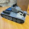 side.jpg Download STL file T-34/85 RC Model 1:16 scale • 3D printing template, mactek3d