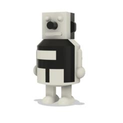 robot_puzzle.png Télécharger fichier OBJ Puzzle androïde (robot) d'URSS • Plan pour impression 3D, zms