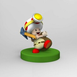 1.jpg Download STL file Captain Toad for 3d printing • 3D printing object, nelytva