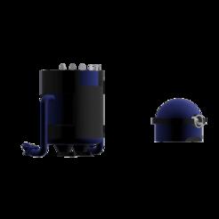 Tacho Minion diagonal izquierda.png Download STL file Blue Minion Tray • 3D print template, Facundo21