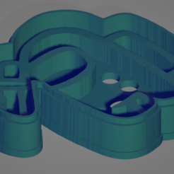 cinco.PNG Télécharger fichier STL Parmi nous, Cookie Cutter 12 • Objet imprimable en 3D, Rhemj