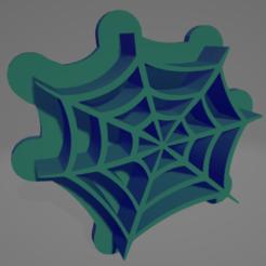 spider 01 uno.PNG Télécharger fichier STL Coupe-biscuits en toile d'araignée • Objet pour imprimante 3D, Rhemj