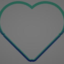 valentine03 cinco.PNG Télécharger fichier STL PUZZLE COEUR MOULE À BISCUITS • Modèle à imprimer en 3D, Rhemj