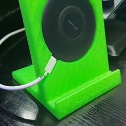 20200608_182806.jpg Download STL file Induction Charger Stand Samsun EP-P1100 • Template to 3D print, CHRISBX2