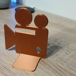 20200509_003211.jpg Télécharger fichier STL SUPPORT DVD/LIVRE CAMERA • Design pour imprimante 3D, CHRISBX2
