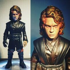 ANA.jpg Télécharger fichier STL Anakin Skywalker • Objet à imprimer en 3D, kleaflab