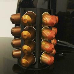 WhatsApp Image 2021-01-04 at 14.10.14.jpeg Télécharger fichier STL Porte-café à capsules Nespresso • Modèle imprimable en 3D, teloprinto