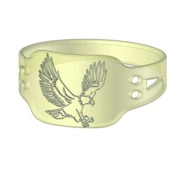 anellsds.jpg Download STL file Eagle Ring • 3D print template, AxelColomer