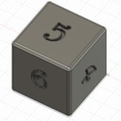 image_2021-01-04_201936.png Télécharger fichier STL Dé 6 faces • Plan pour impression 3D, Sleynes
