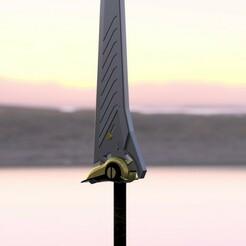 Epée v8 watermark.jpg Télécharger fichier STL Une épée lourde • Modèle pour impression 3D, Ethis