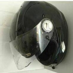 Captura2.JPG Télécharger fichier STL Porte-casque pour motocyclette • Plan à imprimer en 3D, Jn3desing