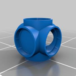 knoten.png Download free STL file Cardboard Tube Marble Track Connector • 3D printer model, Krest