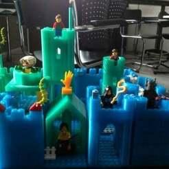 chateau.jpg Download free SCAD file Modular castle kit - Lego compatible • 3D print model, danielkschneider