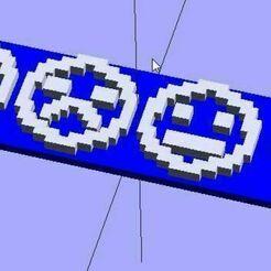 dings-16bit_display_large.jpg Download free SCAD file OpenSCAD Bitmap Fonts Module • 3D printing model, danielkschneider