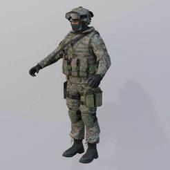 Russian_FGF_I_.jpg Download free OBJ file [Custom] Mil-Sim Call Of Duty Modern Warfare (2019) • 3D printable design, LosSimonos