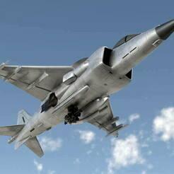 VTOL__Jet.jpg Télécharger fichier OBJ gratuit VTOL Jet Call of Duty Modern Warfare (2019) • Plan pour imprimante 3D, LosSimonos