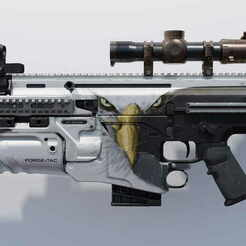Scar-17.jpg Télécharger fichier OBJ gratuit Scar-17 Call of Duty Modern Warfare (2019) • Objet à imprimer en 3D, LosSimonos