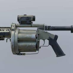 MLG-32.jpg Télécharger fichier OBJ gratuit MLG-32 Call of Duty Modern Warfare (2019) • Modèle à imprimer en 3D, LosSimonos