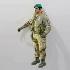 Mil-Sim_Lagunari_I.jpg Download free OBJ file [Custom] Mil-Sim Call Of Duty Modern Warfare (2019) • 3D printable design, LosSimonos