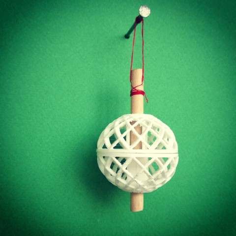 Download STL file Tree Jewelry II (THE BALL) • 3D printer model, Juzbox
