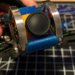 IMG_1821.jpg Download free STL file Armattan Gecko Bumper • 3D printer object, poingtalexis