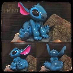 91c44b82-9f61-4d4d-bddd-1119bab260bf.JPG Download STL file Cute Stitch • 3D printer object, GGPrint3D