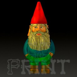 Nomo Frontal.jpg Download STL file Gnome left 4 dead • 3D print object, GGPrint3D