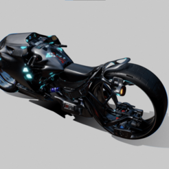 Screenshot 2021-01-12 091502.png Download free STL file Scifi Motorcycle Project_MX • 3D printing model, cults3dseller