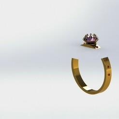 Wedding ring.JPG Télécharger fichier STL bague de mariage • Modèle à imprimer en 3D, sniper4