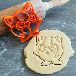 Jigglypuff_mockup.jpg Download STL file Jigglypuff  Pokemon Cookie Cutter • 3D printing object, Cookiecutterstock