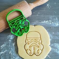 Stormtrooper_mockup.jpg Download STL file Storm Trooper Star Wars Mandalorian Cookie Cutter • Template to 3D print, Cookiecutterstock