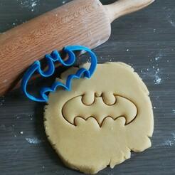 Batman_mockup.jpg Télécharger fichier STL Coupe-biscuits Batman • Modèle imprimable en 3D, Cookiecutterstock