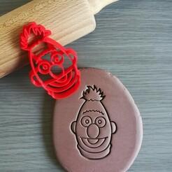 Bert_mockup.jpg Download STL file Bert Sesame Street Cookie Cutter • 3D print object, Cookiecutterstock