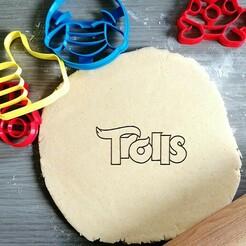 trolls.jpg Download STL file Trolls Cookie Cutter • 3D printing object, Cookiecutterstock