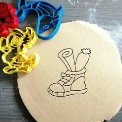 shoe St. Nicholas_koekjesvorm.jpg Download STL file Shoe St. Nicholas Cookie Cutter • 3D printing model, Cookiecutterstock