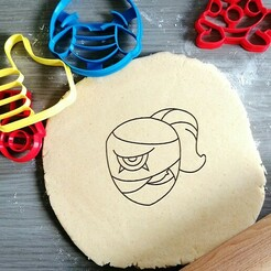 tara.jpg Download STL file Tara Brawl Stars Cookie Cutter • 3D printing model, Cookiecutterstock