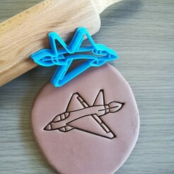 Jet_mockup.jpg Télécharger fichier STL Coupe-biscuits pour avion à réaction • Modèle pour imprimante 3D, Cookiecutterstock