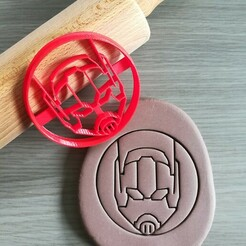 Ant-Man_mockup.jpg Download STL file Ant Man, Marvel Cookie Cutter • 3D print object, Cookiecutterstock