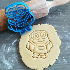 Jerry_mockup.jpg Download STL file Jerry, Minions Cookie Cutter • 3D print template, Cookiecutterstock