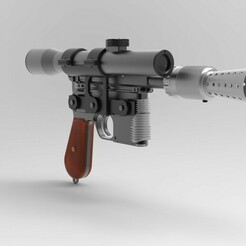 untitled.116.jpg Download STL file Han Solo Blaster DL-44 • 3D printable object, tommy250max