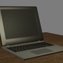 laptop.png Download STL file Acer laptop model • 3D printable design, TJones